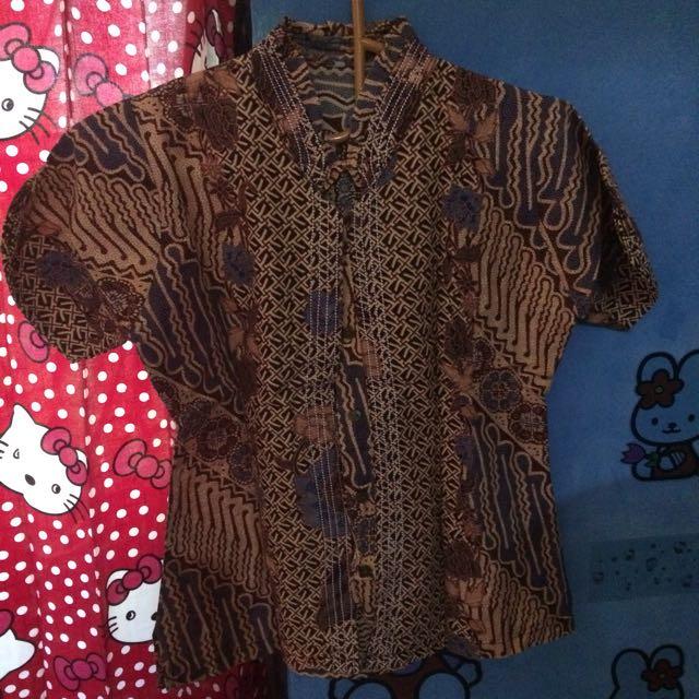 Baju Batik Buat Ngantor