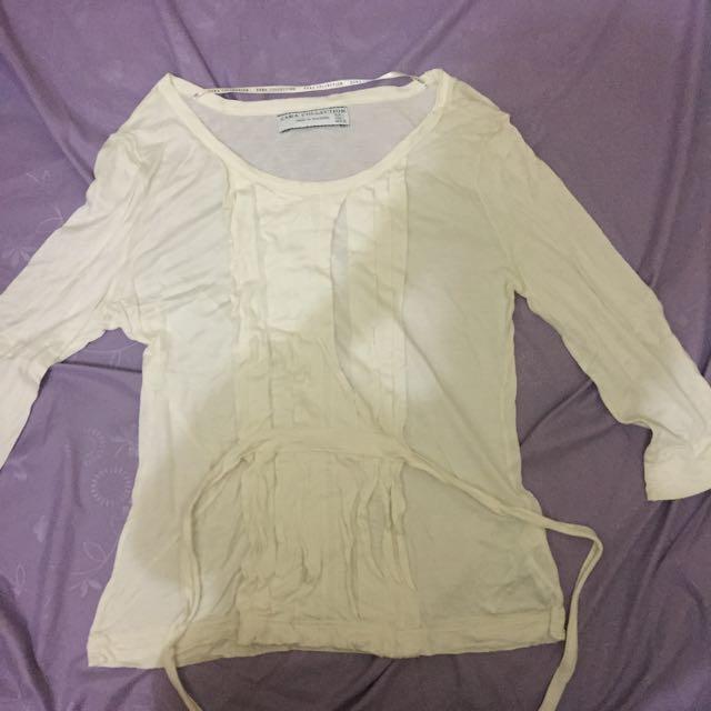 baju putih ori zara