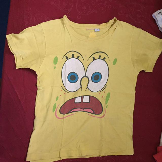 baju spongebob tshirt