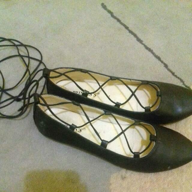 Ballerina Flatshoes / gladiatorshoes