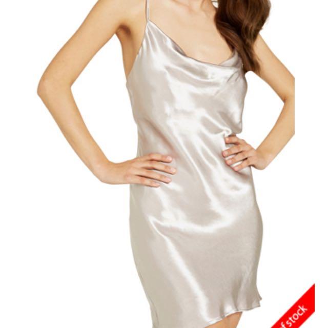 BARDOT SLIP DRESS - SIZE 8