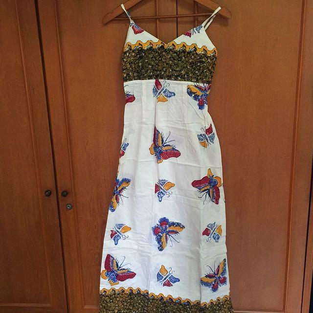 Batik Dress Maxi