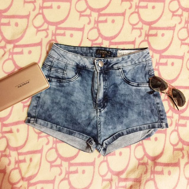 Bershka High Waist Shorts