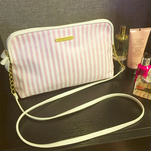 bb08ed3045 🎀BEST DEAL JUICY COUTURE FRAGRANCES STRIPED CROSSBODY (PINK) LAST 1 ...