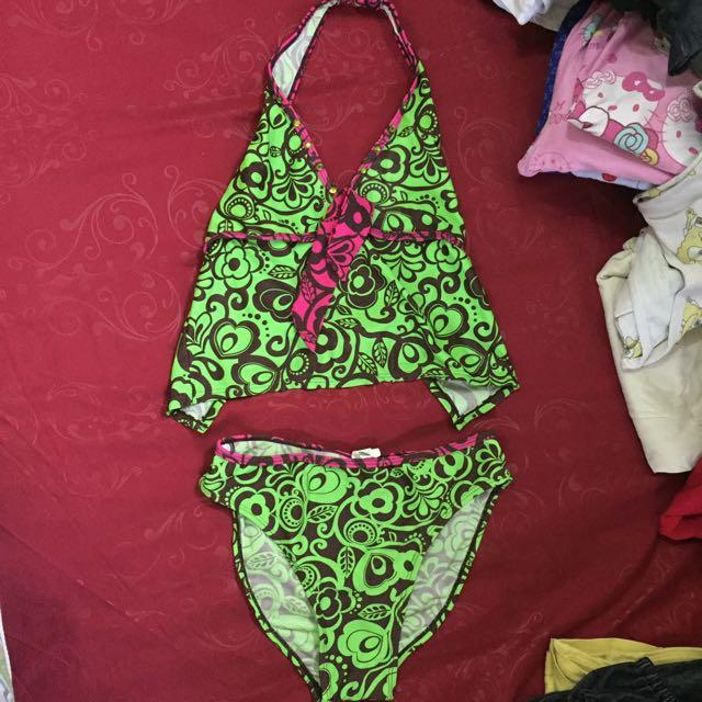 bikini hijau