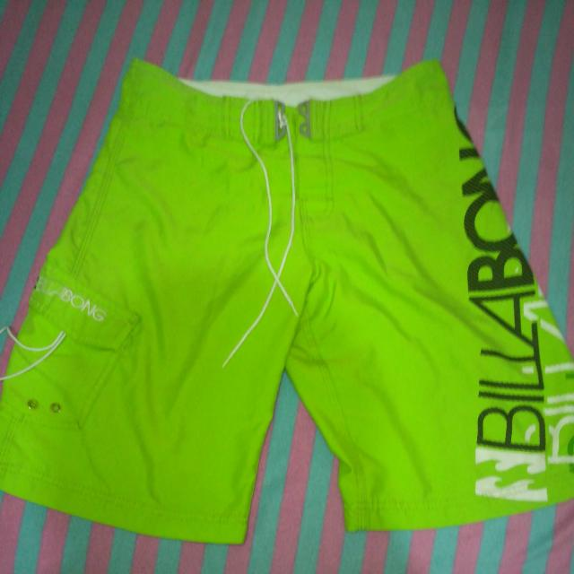 Billabong Neon Green Short