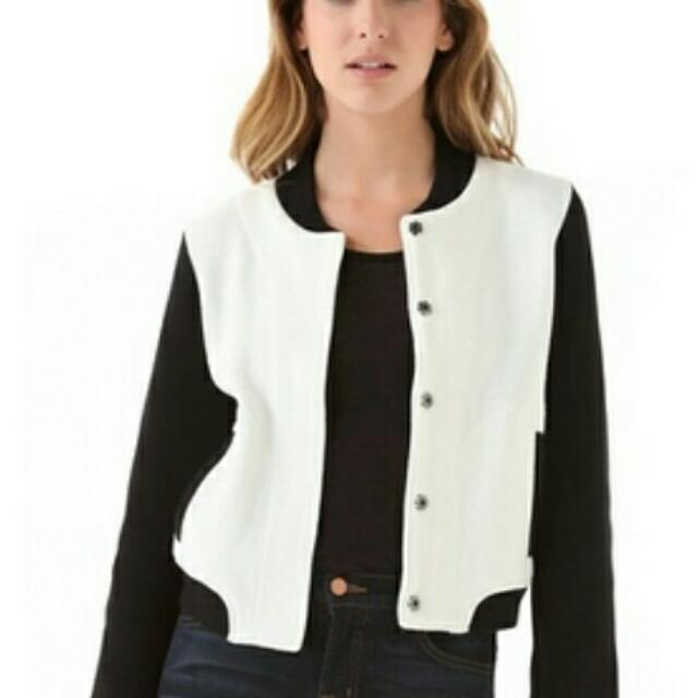 Black And White Bomber