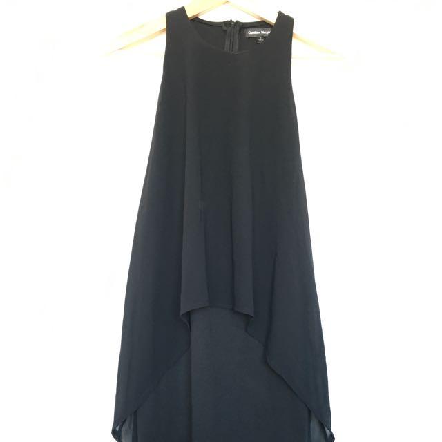 Black Flowy Dress - S
