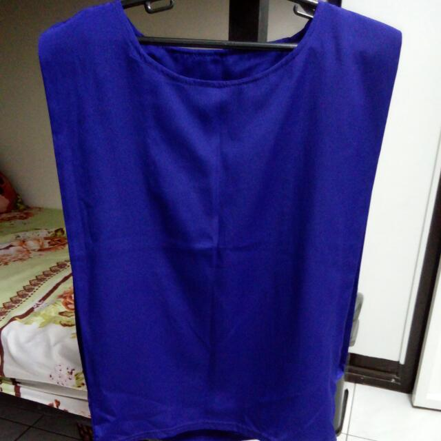 SALE!! Blue Square Top