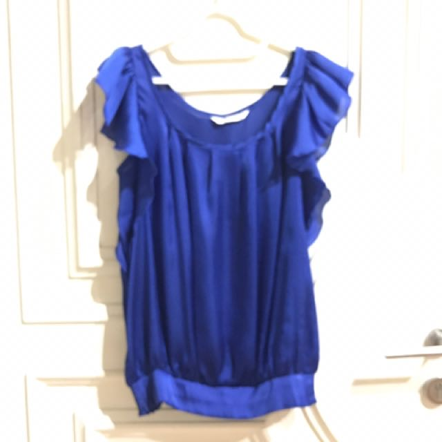 Body & Soul Blue Top