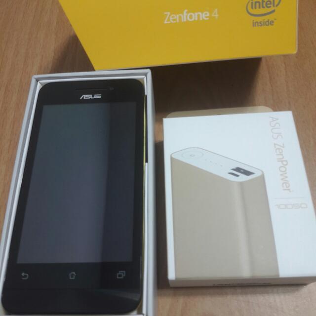 《全新Brand new》ASUS Zenfone 4 A400CG+Power bank ASUS Zenpower 10050(Warrenty to 2018.7.15)