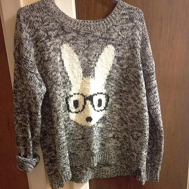 Bunny Grey Sweater