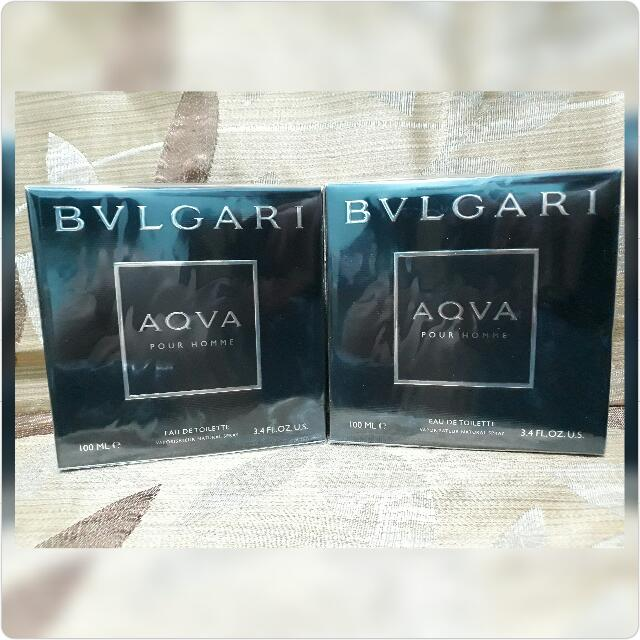 BVLGARI AQUA BLACK POUR HOMME for MEN