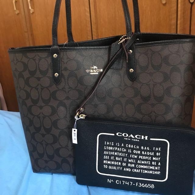 b4a605c9276 Coach Tote bag