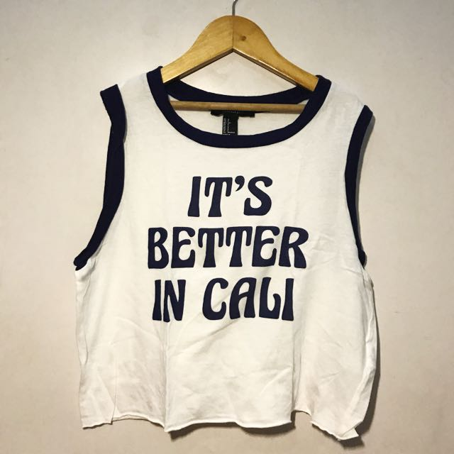 Forever21 Crop Tank Top