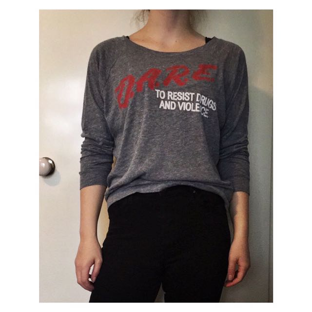 D.A.R.E. Long Sleeve Tee