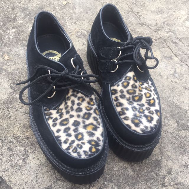 Demonia Flat Form Creepers