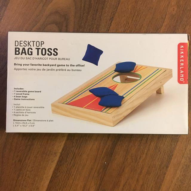 Desktop Bag Toss