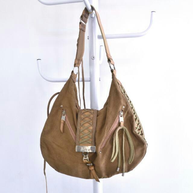 #midnightsale Dior Suede Boho Bag