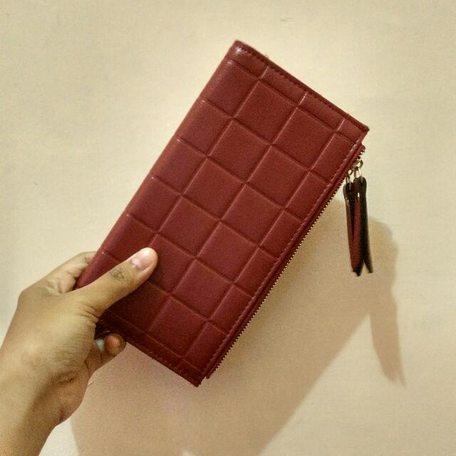 Dompet Wanita Panjang Jims Honey (RED)