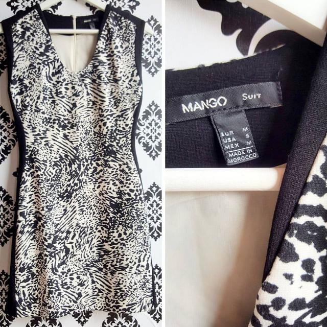Branded Dress MANGO TEBAL