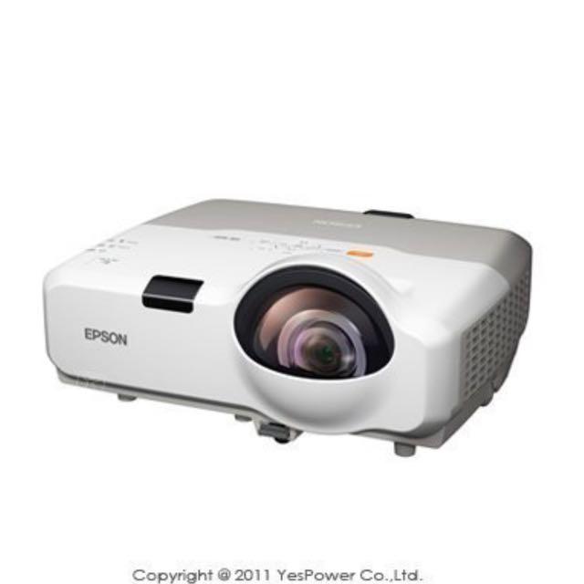 EB-420 EPSON 2500流明短焦投影機/解析度1024×780/無線網路.互動投影/HDMI/16W喇叭/麥克風輸入