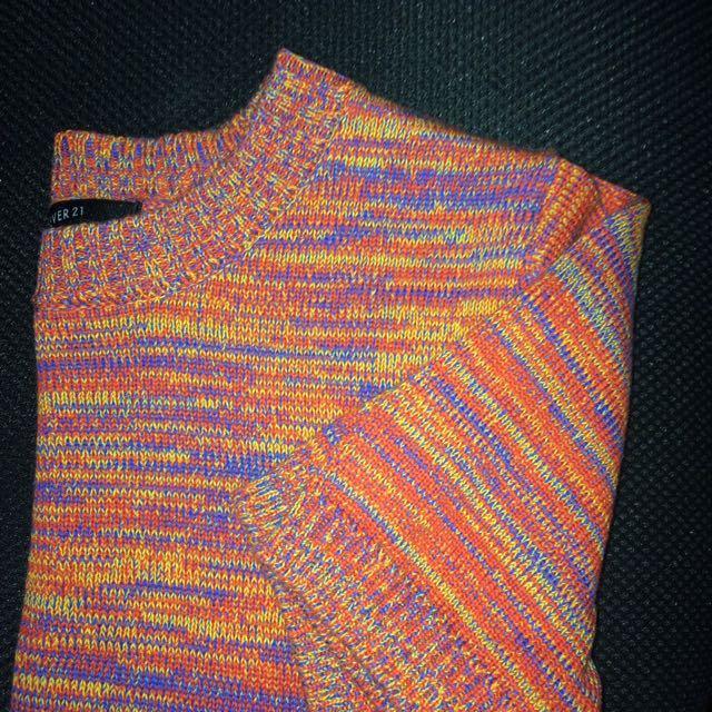 F21 Knit Colour Shirt