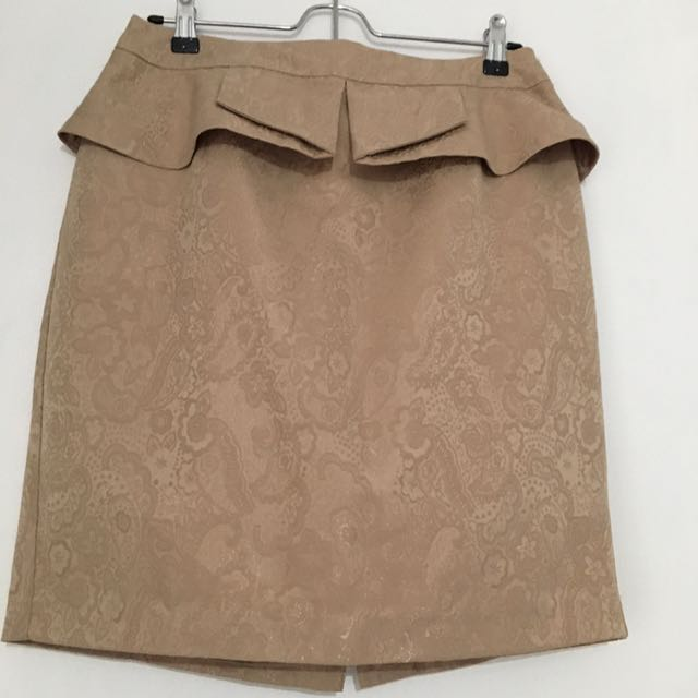 F21 Peplum skirt