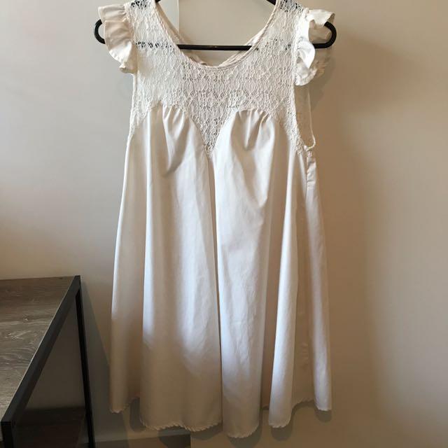 Faith & Lola Dress (Cream)