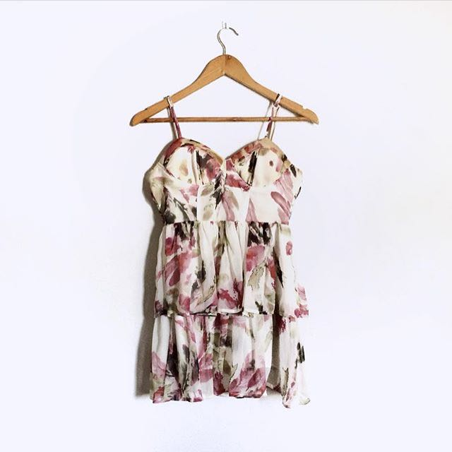 *REPRICED* Floral Dress