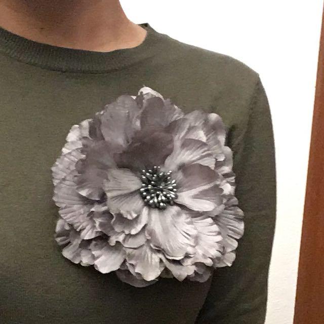 Flower Brooch (for Formal Dresses)