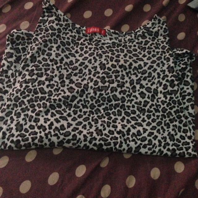 Free Ongkir Baju Leopard Croptee