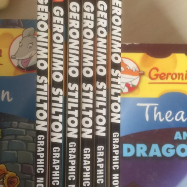 Geronimo Stilton Graphic Novel 1 To 6 For Sale At $30