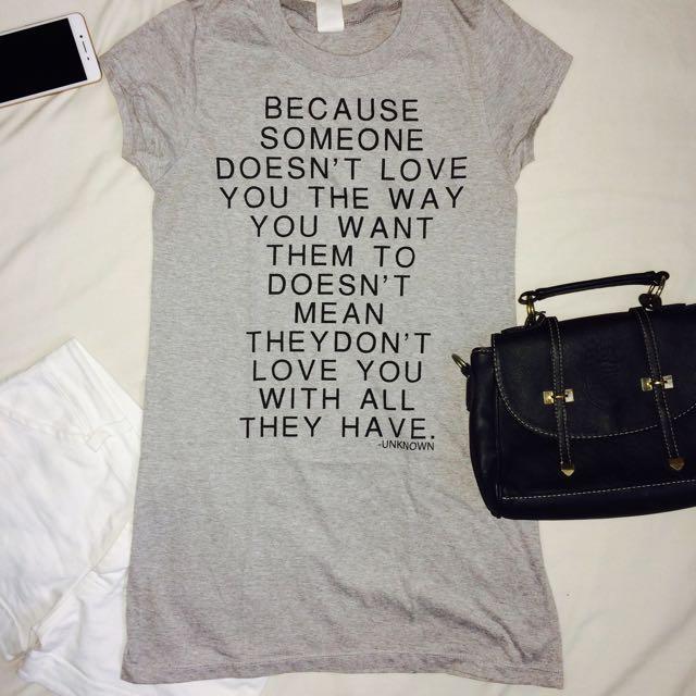Grey Dress/ Shirt