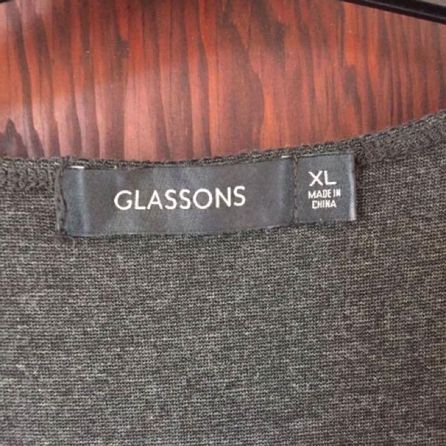 Grey XL Glassons Dress