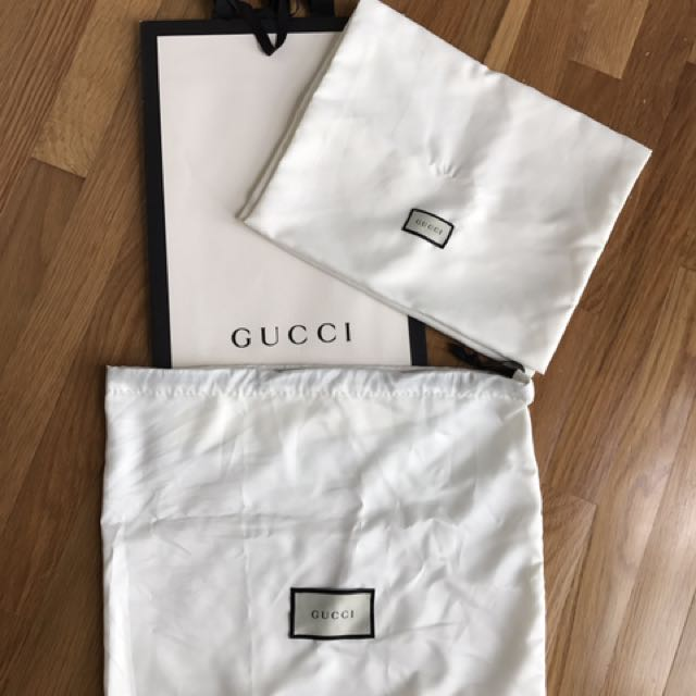 bad296d0d Gucci Dust Bag on Carousell