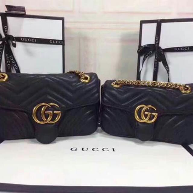 cb819603d028e0 Gucci Marmont Sling Bag, Women's Fashion, Bags & Wallets on Carousell