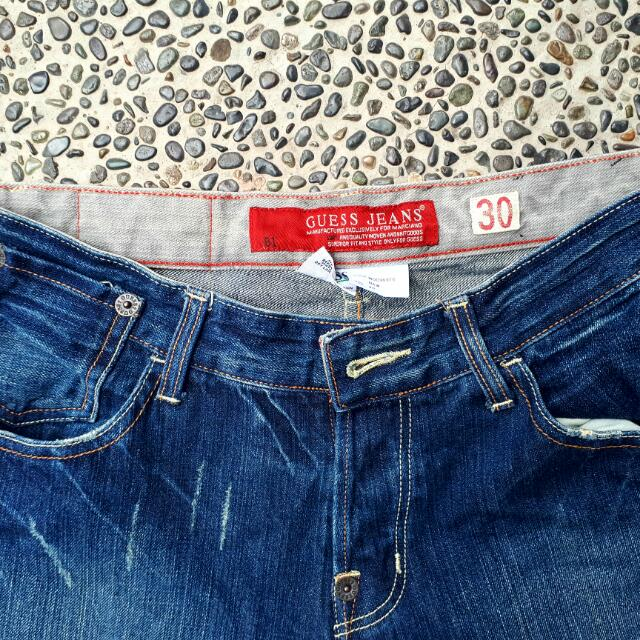 GUESS Authentic Slim Fit Denim Size 30