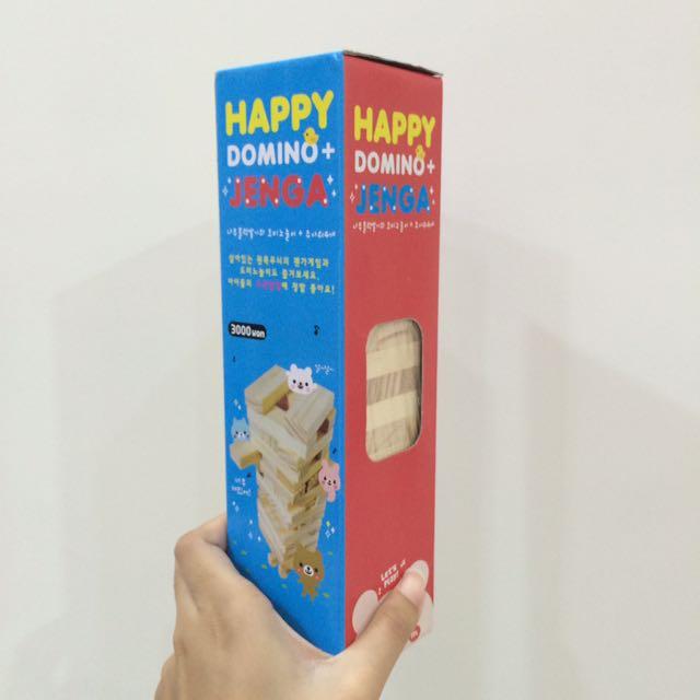 Happy Domino Jenga Medium
