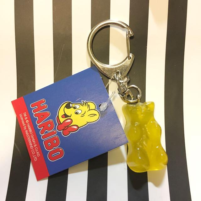 Haribo 小熊軟糖 鑰匙圈 吊飾