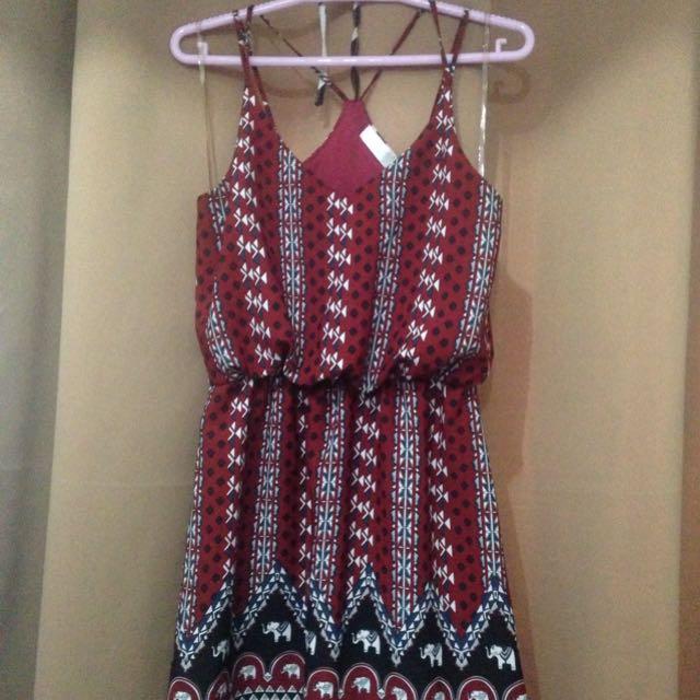 Hip Culture Boho Dress