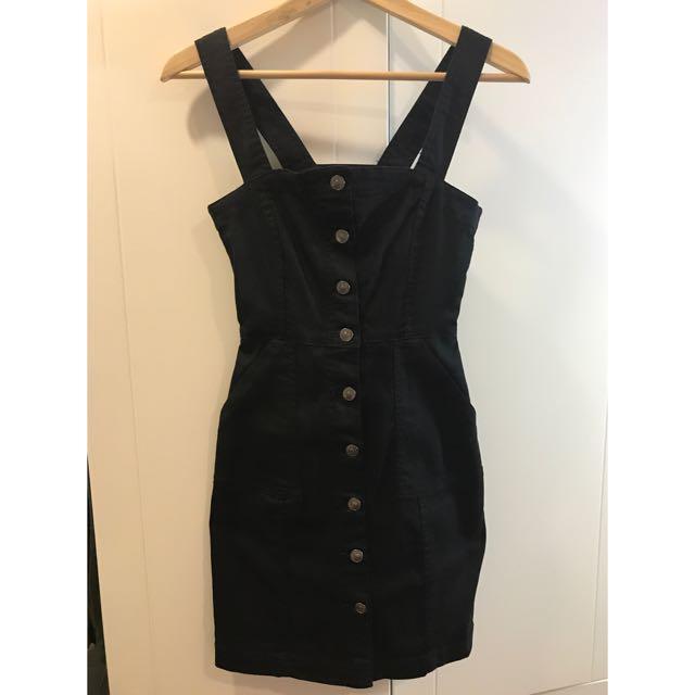H&M排扣洋裝