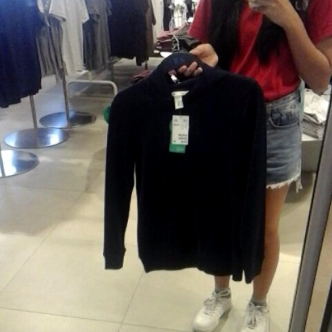 H&M navy blue jacket