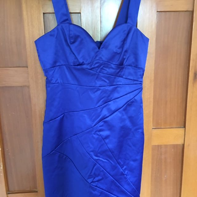 H&M Royal Blue Dress