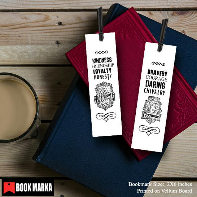 Hogwarts Houses Bookmark