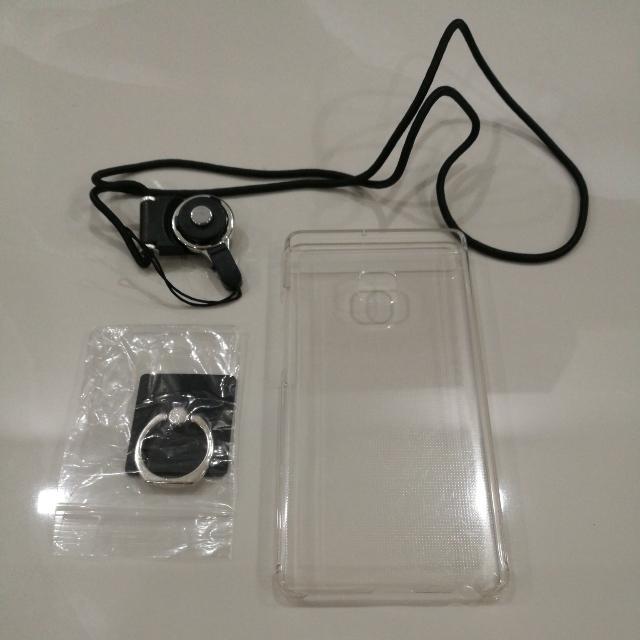 Huawei P9 Phone Cover (Transparent)