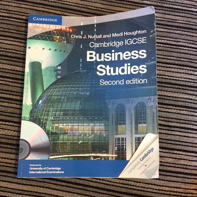 IGCSE Business Textbook