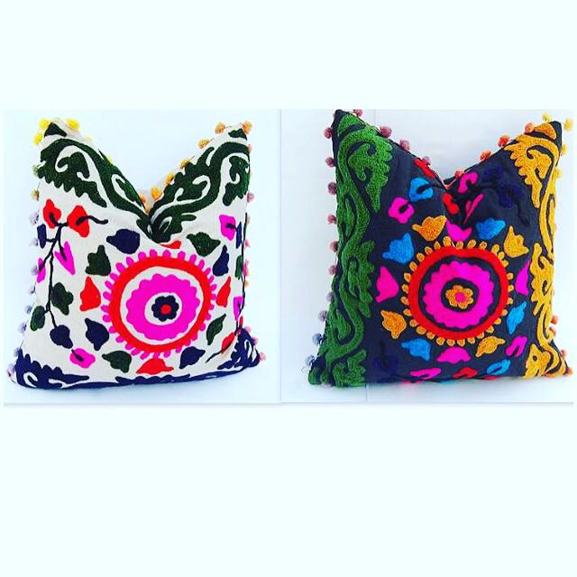 Indian Kashmiri Cushion Cover Set