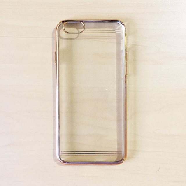 iPhone 6/6s Gold Frame Case