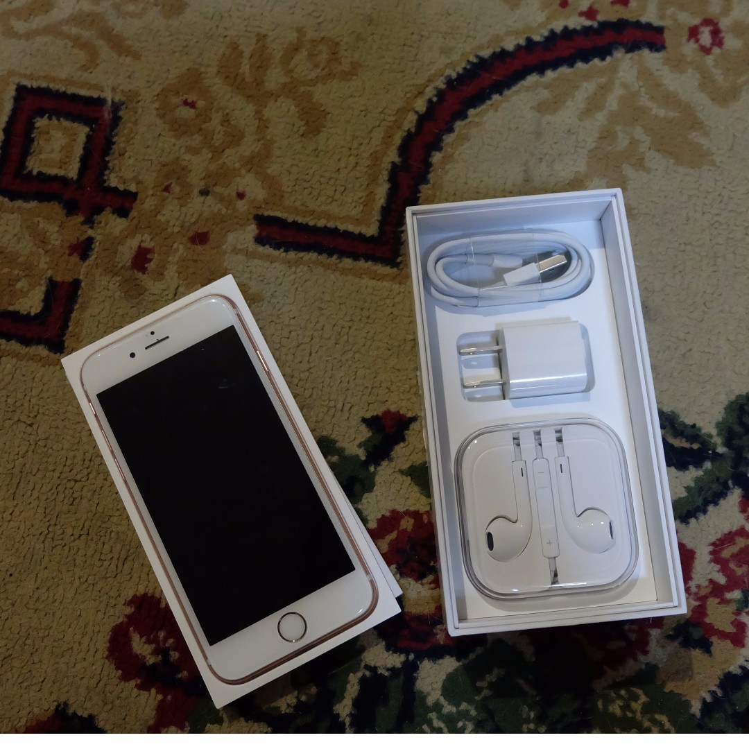 Iphone 6s Rosegold and Space Gray 16Gb